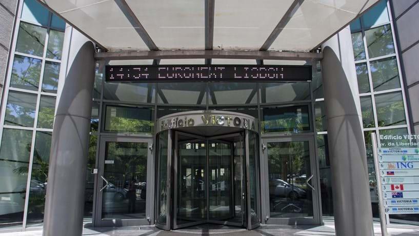 Imagem da entrada da Euronext Lisboa