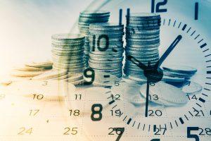 Fotografia referente a dinheiro em perigo